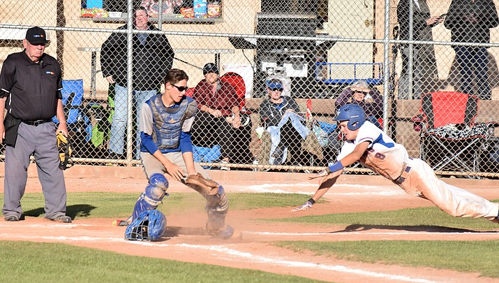 Youthful Camp Verde baseball takes over first place