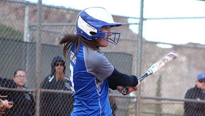 Kingman Academy's Shaunti Short drove in three runs Friday in a 15-0 win over Parker.