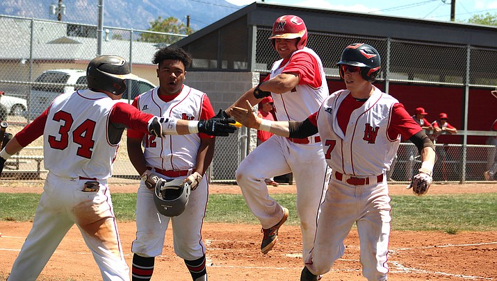 Prep Baseball: Volunteers sweep Mingus to win 4A Grand Canyon Region