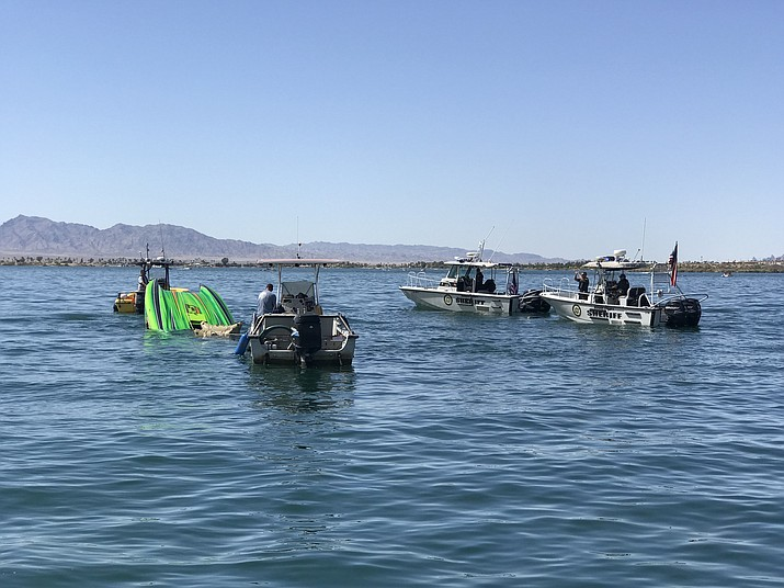 Two male occupants are dead, and one female passenger is in critical condition after a boating accident on Lake Havasu.