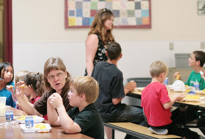 Although the Beaver Creek School cafeteria will be closed during the teacher strike, students will be able to take home additional food through its School Food Pantry, District Superintendent Karin Ward stated in a letter Monday to the district's families. (File photo by Bill Helm)