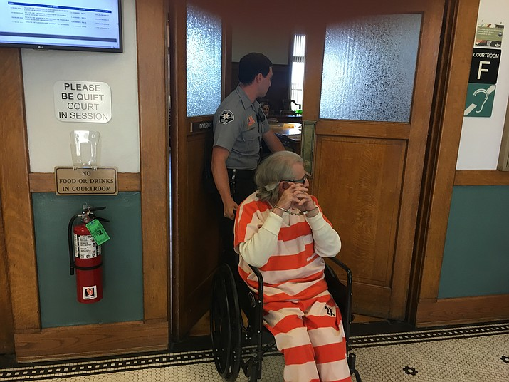 Alfredo Blanco, charged with first-degree murder of real estate agent Sidney Cranston Jr., is wheeled into court at a previous hearing. His trial is scheduled for Sept. 25.