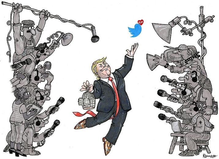 Editorial cartoon (2): April 24, 2018