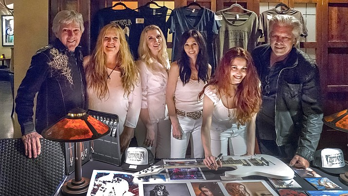 Zepparella features guitarist Gretchen Menn and drummer Clementine (founder) and they have a passion for the legendary music of one of the greatest bands in the world.