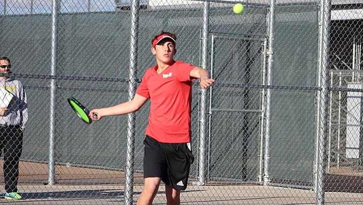 Prep Tennis: No. 16 Vols set for No. 1 Catalina Foothills
