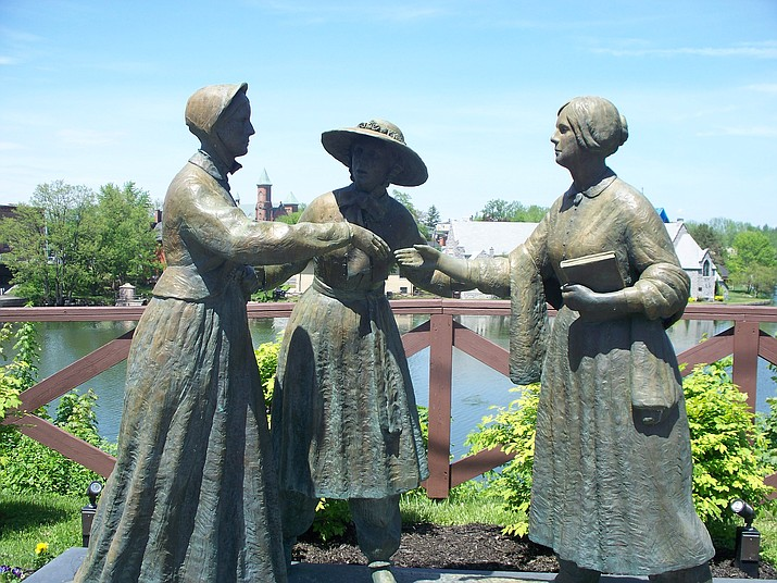 Art exhibits coming to Women's Rights National Historic Park in Seneca Falls, NY. (Photo/NPS)