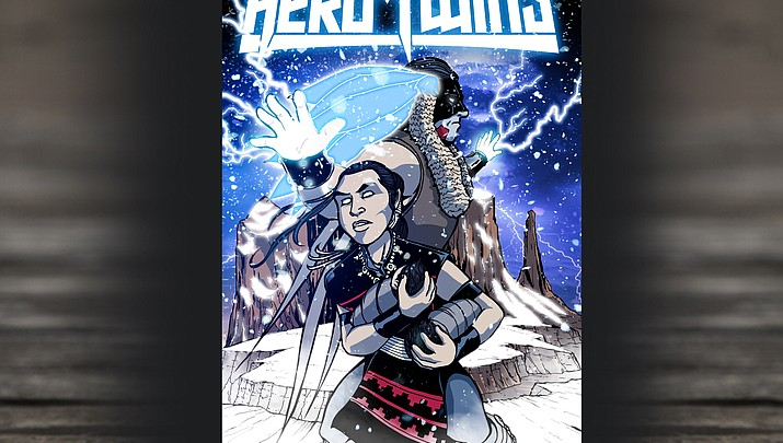"""Author and illustrator Dale Deforest presents new comic book """"Hero Twins"""""""