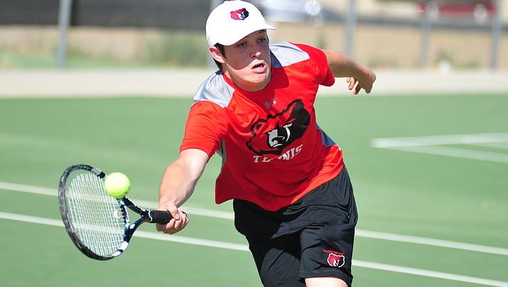 Bradshaw Mountain tennis edges Nighthawks, advance to state quarters