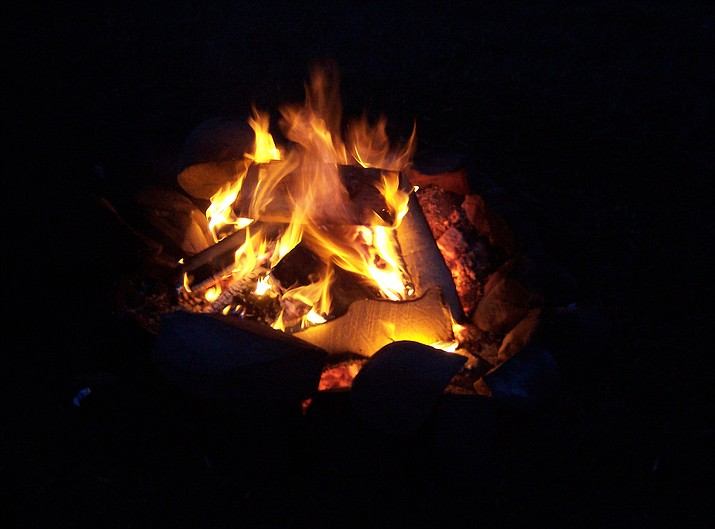 Campfires are restricted to designated areas in Coconino National Forest.(Photo/F.A. Mac Donald)