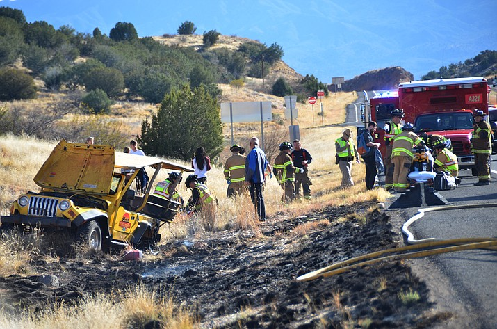 The driver in a tour jeep rollover from last month has died due to injuries sustained in the accident, according to Bart Graves from  Arizona Department of Public Safety. VVN/Vyto Starinkas