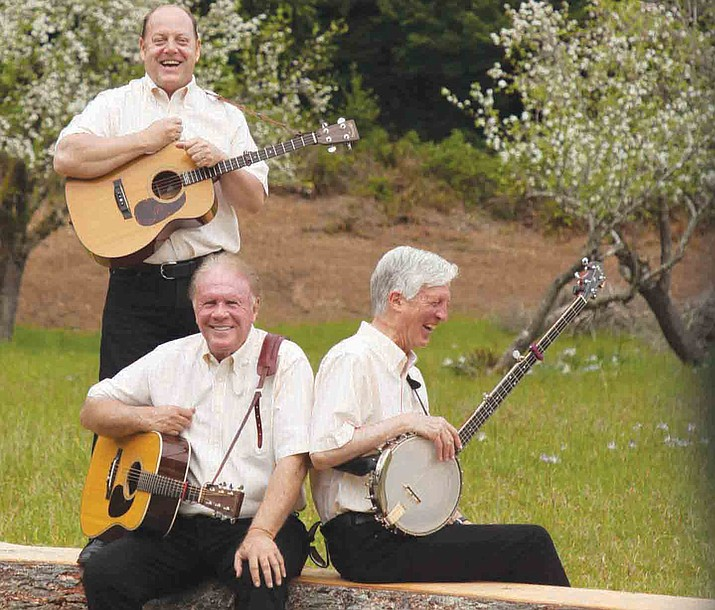 Kingston Trio is comprised of Josh Reynolds, son of original Trio member Nick Reynolds, as well Mike Marvin, who is Nick Reynolds' adopted son, and Tim Gorelangton. (Courtesy)