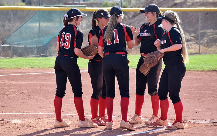Mingus softball will open the 4A state tournament at home at 10:15 a.m. on Saturday. (VVN/James Kelley)