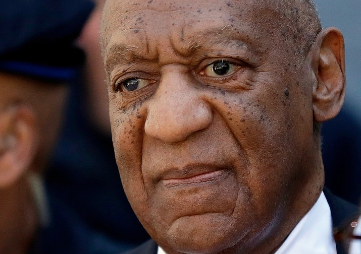 Actor and comedian Bill Cosby departs the courthouse after he was found guilty in his sexual assault retrial, Thursday, April, 26, 2018, at the Montgomery County Courthouse in Norristown, Pa. (Matt Slocum/AP)