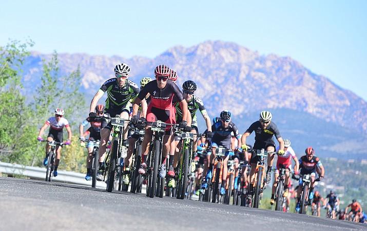 The Whiskey Off-Road Mountain Bike Event 2018, downtown Prescott, runs through Sunday, April 29, 2018. (Les Stukenberg/Courier file photo)