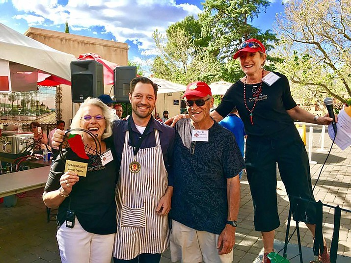 Last year's Chili Cook-Off community competition was very close with Cottonwood's mayor Tim Elinski winning by a very narrow margin over Sedona's Mayor Sandy Moriarty.