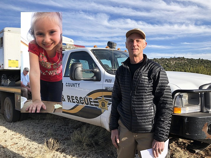 Coconino County Sheriff's Office is searching for a four year-old girl in the Red Lake area of Williams. Commander Rex Gilliland said the search continued through the night.