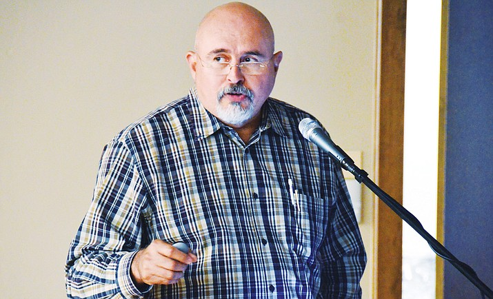 """Rudy Rodriguez: """"It's not expenditures causing the problem, it's the lack of revenue that we're having and have had for a number of years."""" VVN photo"""