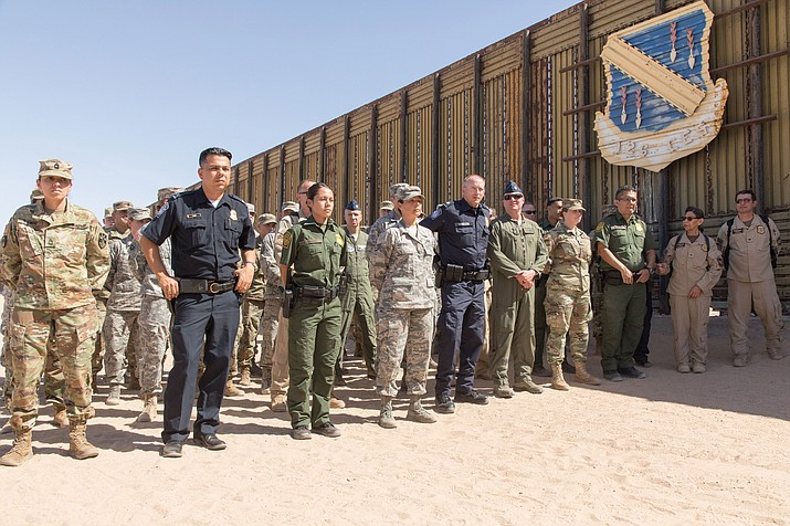 Dept. of Homeland Security Secretary Kirstjen Nielsen visits the San Luis II Commercial Port of Entry in Arizona.  Members from the National Guard, Office of Field Operations, Air and Marine Operations and the U.S Border Patrol were in attendance.