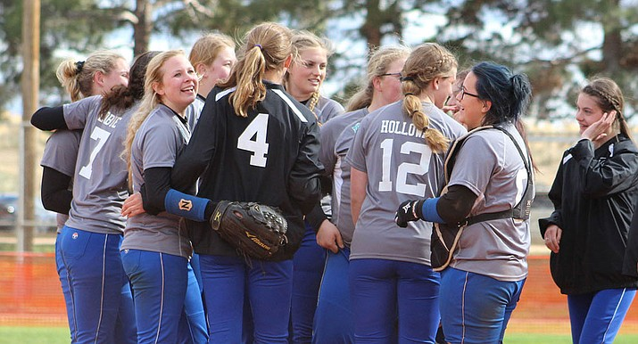 The Kingman Academy High School softball team continues play in the 2A State Championship at 6 p.m. today against No. 1-seed Benson.