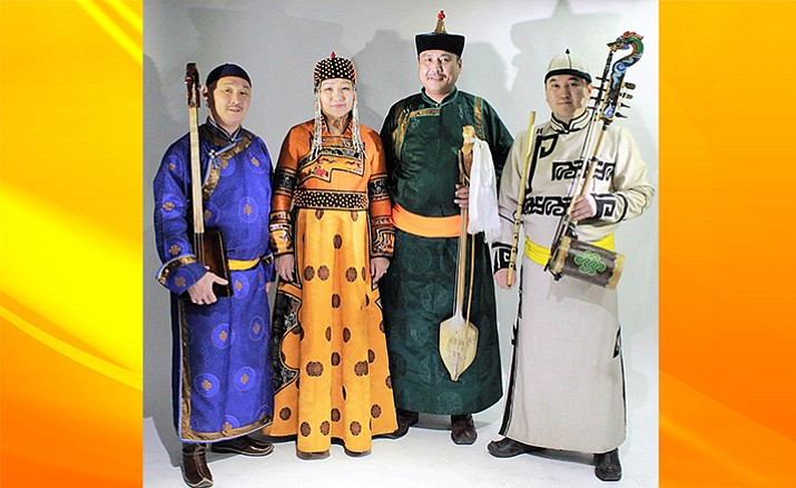 Chirgilchin is a group of musicians from Tuva, the geographical center of Asia, near Siberia and Western Mongolia, who sing the ancient folk songs in the Tuvan language, the group also plays traditional hand made instruments.