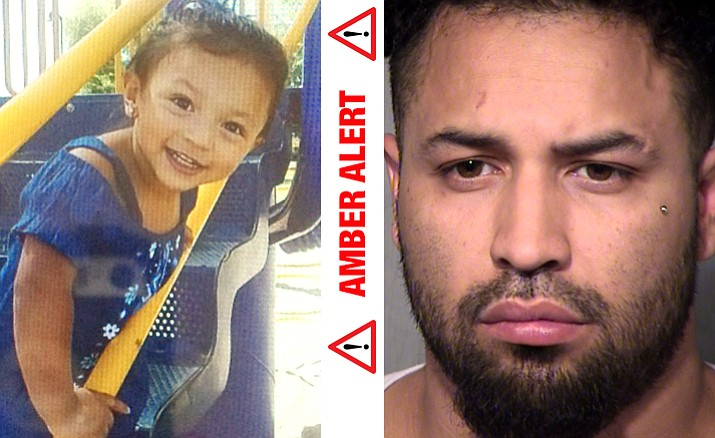 Khaleesi Morales was reported taken by Luis Morales (Courtesy/Amberalert.org)