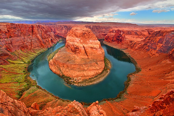 The Colorado River wraps around Horseshoe Bend in Page, Arizona. (Photo by Adobe Images)