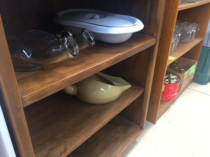 Some bedpans for sale at Hope's Attic Thrift Store. (Jason Wheeler/Courier)