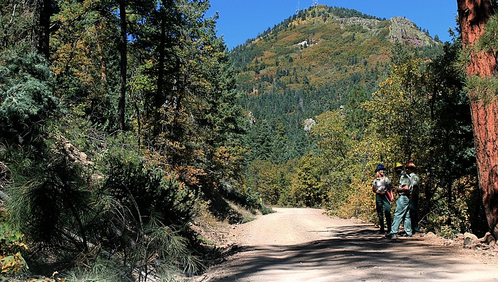 Bill Williams Mountain and surrounding watershed closed