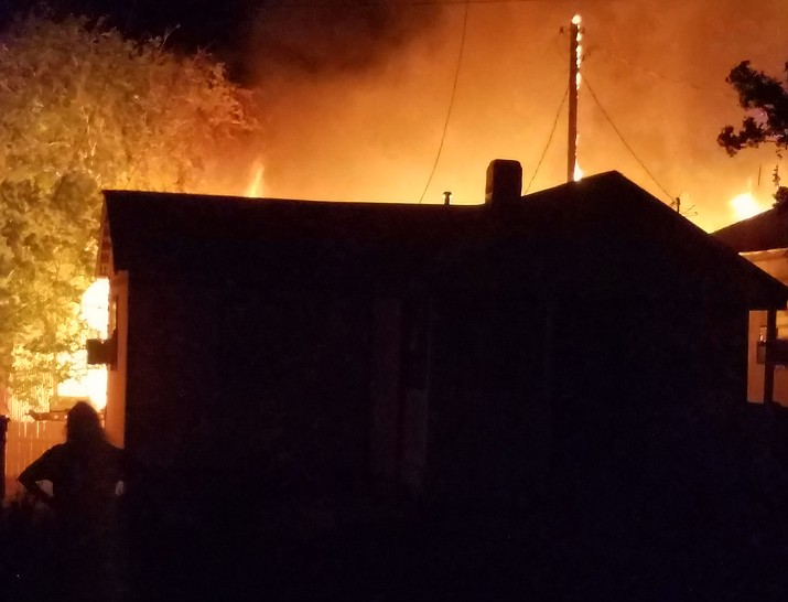 A fire involving six homes and damaging four of them was contained by Kingman Fire Department late Thursday night.