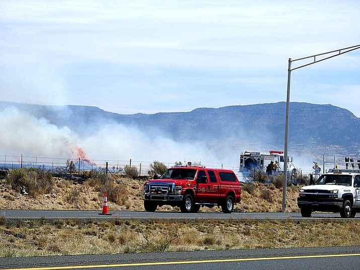 Multiple wildland fires are burning in Prescott Valley near State Route 89A and the Viewpoint subdivision.