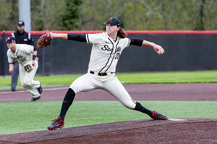 Seattle University's Tarik Skubal put up another dominating performance Saturday with 10 strikeouts in seven innings of work to pick up his seventh win of the year.