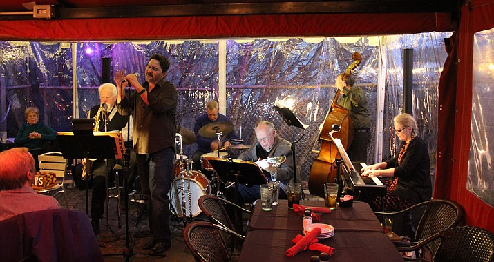 The Goodwin Street Gang is pictured in this January 12, 2017, file photo. The group is scheduled to perform Monday night, May 14, 2018, at the Top of the Elks -- upstairs at 117 E. Gurley St. in Prescott. 