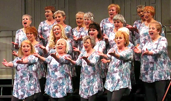Women of all ages are invited to the chorus's annual Open House/Membership Guest Night on Monday, May 21, 7 p.m., at West Sedona School, 570 Posse Ground, Sedona. The festive event takes place in the school's music room, #604.