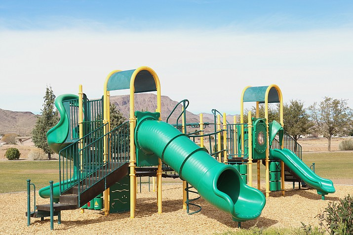 Playground equipment in Kingman may be replaced by the amount of usage rather than which pieces are the oldest.