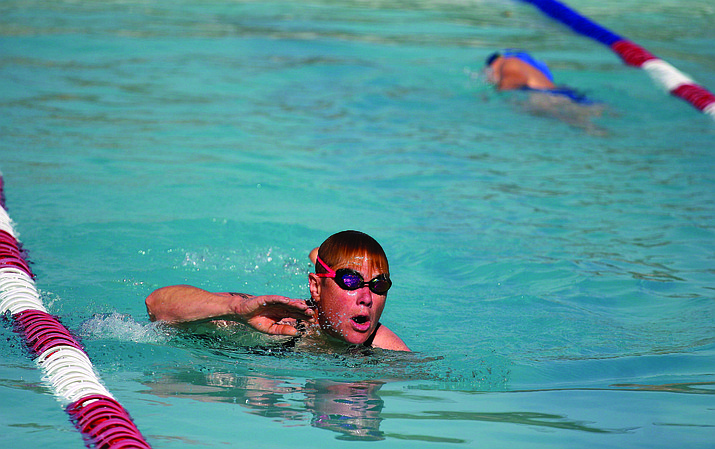Wednesday, the Camp Verde Town Council could approve rate increases to use the Town's Heritage Pool. Pool season begins at noon on May 26 in Camp Verde. (Photo by Bill Helm)