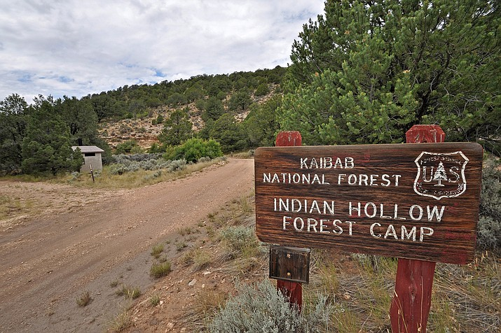 Indian Hollow Campground, along with all other campgrounds on the North Kaibab Ranger District, are now open. There are currently no fire restrictions on the North Kiabab Ranger District. (Photo/Kaibab National Forest)