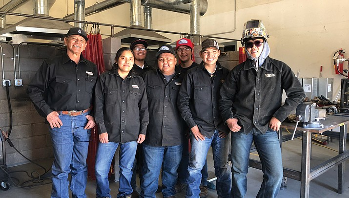 Welding their way to a new future: Navajo Technical University celebrates 11 new welders