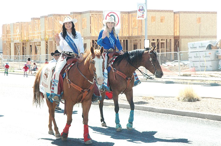 The Prescott Valley Days Parade, held Saturday, May 12 on Florentine Road in Prescott Valley, saw about 75 entrants. (Jason Wheeler/Tribune)