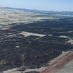 Aerial view of the Viewpoint Fire that occurred Friday, May 11, 2018 in Prescott Valley. (Blake Dewitt/Courier)