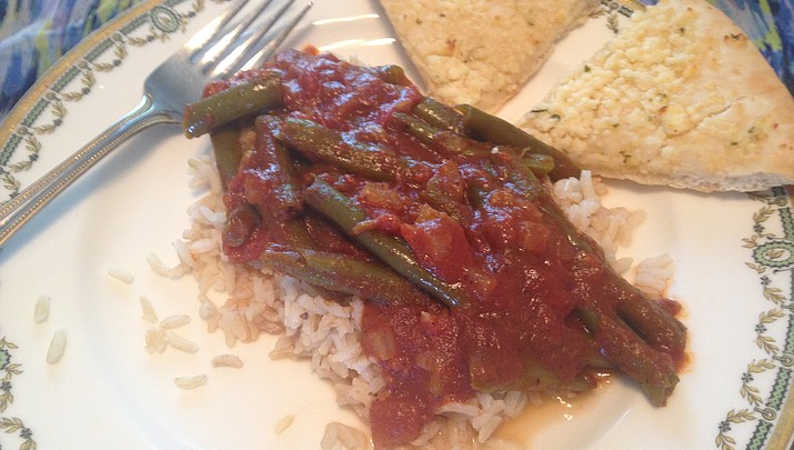 Cooking with Diane: Lebanese Green Beans with Tomatoes