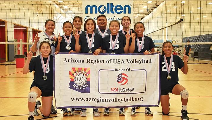 Tuba City Starlings win Arizona Region of USA Volleyball