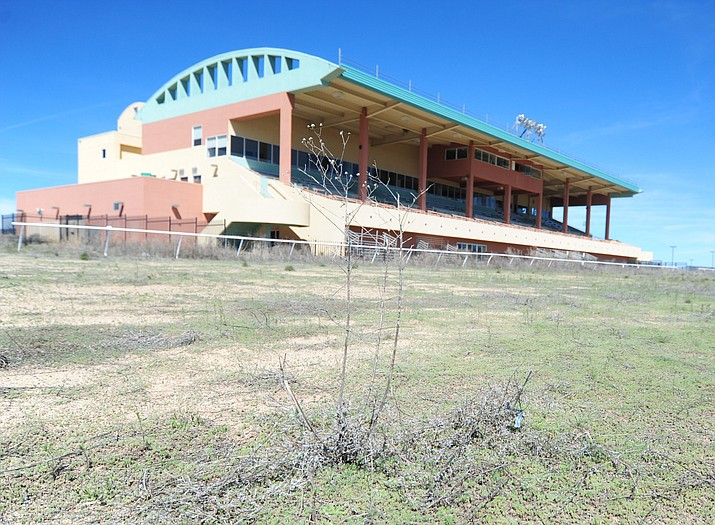 Yavapai Downs, which hasn't seen horse racing since 2010, appears to be in position for a full season in 2019, now that the state has approved a permit for the new owners to race. (Les Stukenberg/Courier, File)