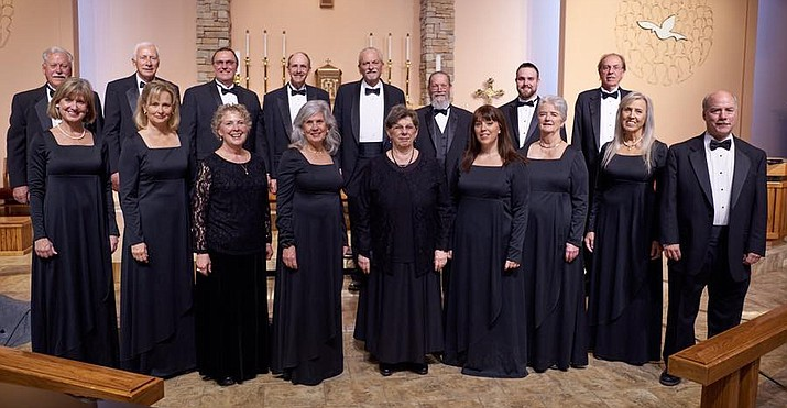 The Camerata Singers are set to perform spirituals and American folk songs at St. Luke's Episcopal Church on Saturday, May 19, 2018. (Dan Boyce/Courtesy)
