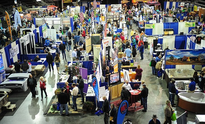 The 40th Annual Yavapai County Contractors Association Home and Garden Show takes place this weekend at the Prescott Valley Event Center, 3201 North Main St. The event is free and open to the public, from 9 a.m. to 5 p.m. Friday and Saturday, May 18 and 19, and from 9 a.m. to 3 p.m. Sunday, May 20. (Courier file photo)
