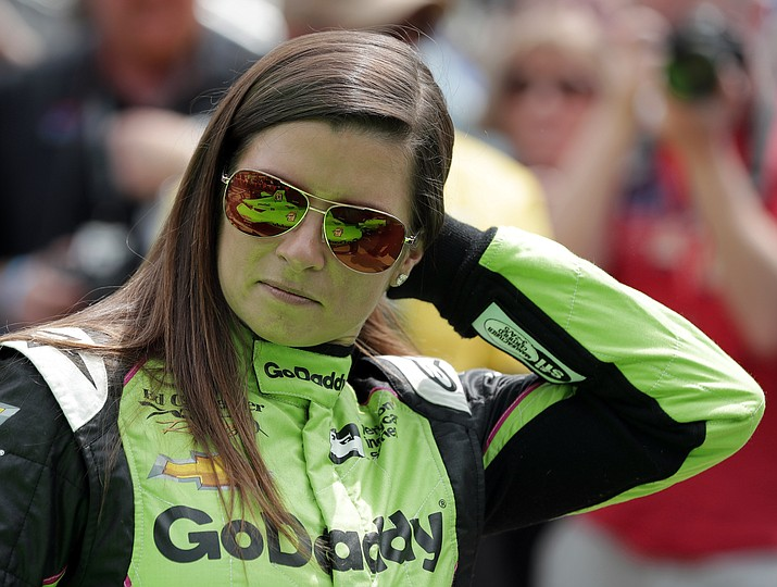 Danica Patrick waits during qualifications for the IndyCar Indianapolis 500 auto race at Indianapolis Motor Speedway in Indianapolis, Saturday, May 19, 2018. (Darron Cummings/AP)
