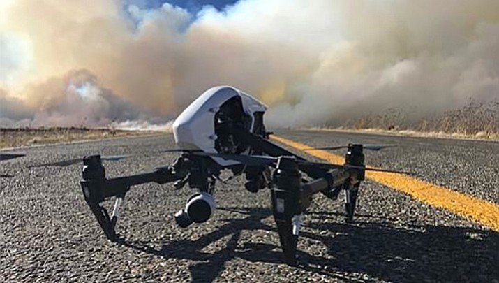 Drones go to work at fire scenes