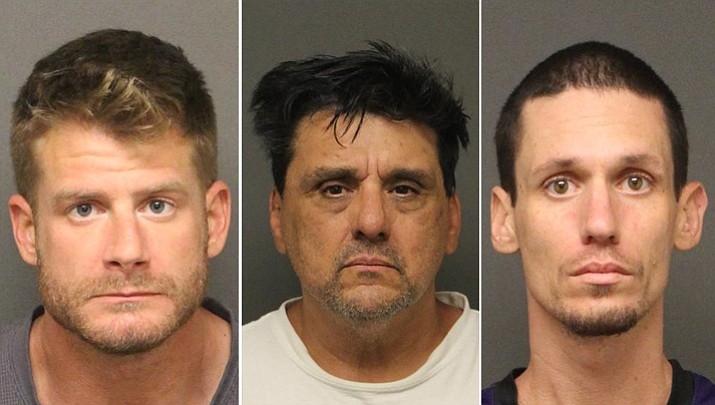 3 arrested after 29 grams of meth found