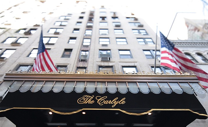 "While the walls at The Carlyle don't talk, they definitely whisper. Matthew Miele's ""Always at The Carlyle"" brings to life the untold stories of this legendary hotel as heard from the mouths of its own employees and top clientele, including George Clooney, Anjelica Huston, Tommy Lee Jones, Vera Wang, Anthony Bourdain, Roger Federer, Wes Anderson, Sofia Coppola, Jon Hamm, Lenny Kravitz, Naomi Campbell and Elaine Stritch."