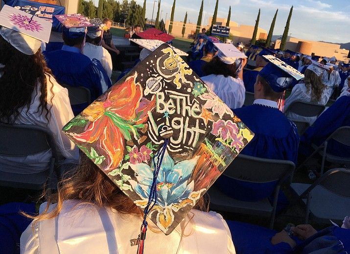 Camp Verde High School's graduation begins at 7 p.m. Thursday at Camp Verde High School, on the Sam Hammerstrom football field. (Photo by Bill Helm)