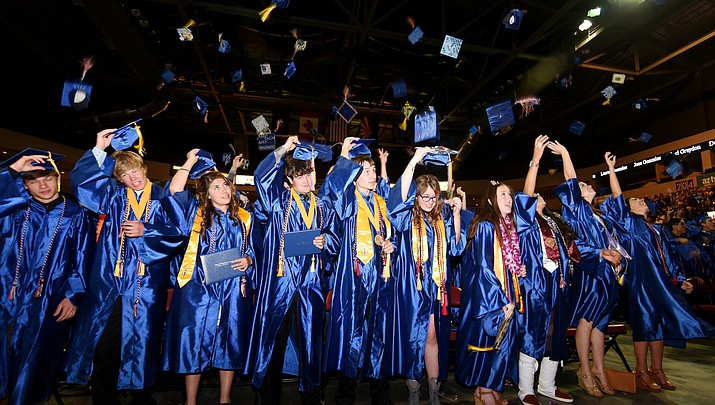 Looking forward, Chino Valley High School seniors look back